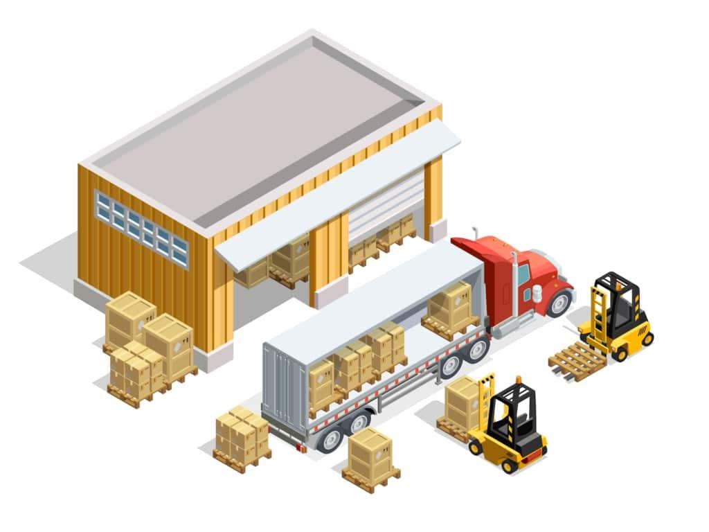 entrepot logistique