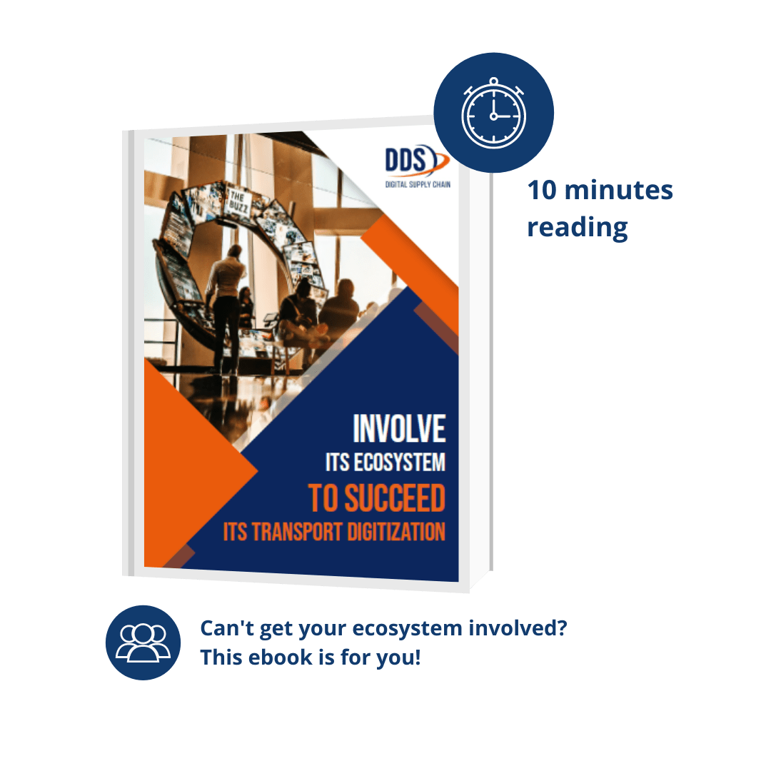 E-BOOK : INVOLVE ITS ECOSYSTEM TO SUCCEED IN YOUR TRANSPORT DIGITALIZATION